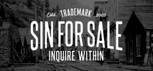 Sin for Sale, Apparel & handcrafted leather goods made in Huntington Beach CA
